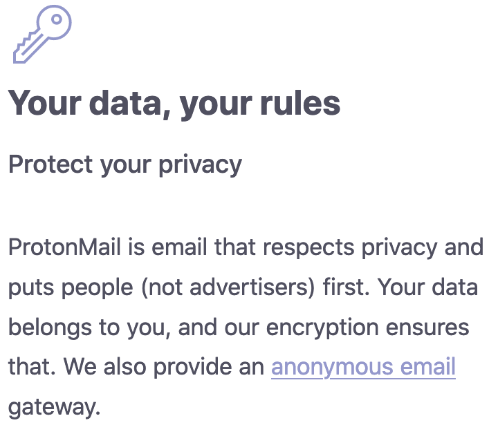 ProtonMail logging claims